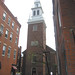 "Old North Church - Boston - Entrance with Steeple • <a style=""font-size:0.8em;"" href=""http://www.flickr.com/photos/58221669@N02/6989416942/"" target=""_blank"">View on Flickr</a>"