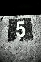 5 ..after 4, before 6. (#mr. X) Tags: barcelona sea blackandwhite abstract beauty contrast port concrete prime harbor harbour 5 magic number illusion mobilephone inspire htcdesire jeffmathews flickrandroidapp:filter=nyc
