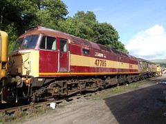 47785 Kirkby Stephen East 24/08/08. (37260 - 4.5 million+ views, many thanks) Tags: stephen east kirkby 47785 240808