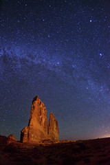 "Milky Way over The Organ - Arches NP (IronRodArt - Royce Bair (""Star Shooter"")) Tags: park light sky lightpainting nature night dark painting way stars star evening twilight shiny long exposure heaven glow shine nightscape time dusk infinity space deep arches twinkle astro sparkle galaxy national astrophotography planet astronomy archesnationalpark universe exploration milky cosmic starry cosmos constellation distant nightscapes starrynight milkyway starlight theorgan courthousetowers starrynightsky removedfromstrobistpool nooffcameraflash seerule1"