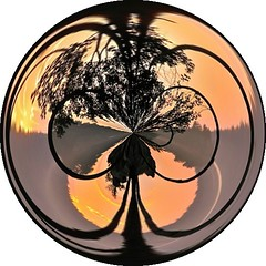 squam.lake.sunset  swirl (origamidon) Tags: world trees sunset usa mist lake water clouds silhouettes newhampshire orb nh amazingcircles sphere swirl orbs spheres transformed digitalmanipulation mists squamlake swirled dumpr origamidon donshall squamlakesunset squamlakenewhampshireusa
