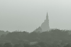 Hazy Basilica (ep_jhu) Tags: washingtondc dc washington cloudy basilica dcist hazy cua catholicuniversity wldc