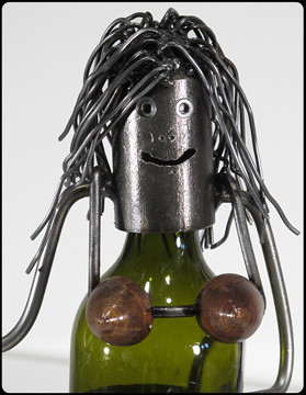 Ha'Wine Bottle Holder