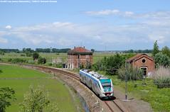 Minuetto a Balzola(AL) (Samuele Granata) Tags: italy me train al nikon railways railroads casale elettrico regio monferrato regionale balzola chivasso minuetto 4290 ale501 d3000