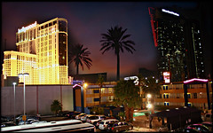 Las Vegas (youneverknowphotography) Tags: las vegas sunset canon rebel hotel paradise xsi