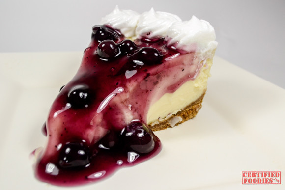 Ken's Homemade Blueberry Cheesecake