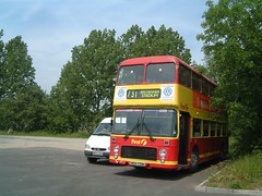 NEW731W - Dudley 2002 (Walsall1955) Tags: ecw bristolvrt pmt easterncoachworks bristolvr firstpmt potteriesmotortraction neh731w