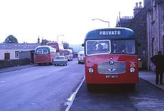 Highland CD12 Muir of Ord (Guy Arab UF) Tags: bus buses bedford group scottish highland 1965 muiroford omnibuses cd12 duple vas1 bst201c