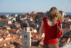 Lady in red (Lin.y.c) Tags: travel europe croatia d200 dubrovnik adriatic