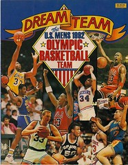 bird basketball john michael team magic dream johnson jordan tournament larry karl olympics nba stockton americas visa malone