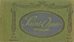 Postcards of Saint-Omer, c. 1910, cover of the book of cards
