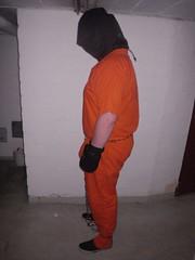 Prisoner (bondagehaj) Tags: mask bondage hood prisoner inmate humane restraint segufix
