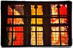 The Heat Wave (Gali-Dana) Tags: red orange window israel jerusalem לילה heat ירושלים ночь израиль иерусалим galidana