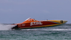 2012-07-15 60D Miami FL Offshore Powerboat Race 743 (James Scott S) Tags: ocean usa beach glass race speed canon scott eos james boat is florida miami offshore air south united fast overcast competition racing atlantic l fl states usm dslr powerboat ef 100400mm sunbathers sobe 60d f4556l
