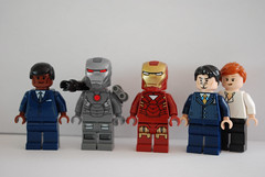 Iron Man 2 (legoskf) Tags: man robert pepper james war iron lego machine jr ironman tony stark rhodes avengers potts gwyneth downey paltrow rhodey