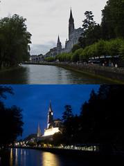 Basilica (Luigi Photo) Tags: basilica fiume francia gave notturno madonnina lourds