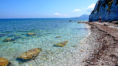 Capo Bianco (Ola55) Tags: blue sea summer italy beach water mare estate stones blu sassi acqua spiaggia the4elements aplusphoto bellitalia worldtrekker ola55 100commentgroup