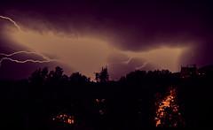 Tximista gaba (matzorri) Tags: sky storm nature night landscape nikon paisaje tormenta lightning gaua d90 tximista ekaitza