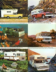 1970 Chevrolet Campers and Trucks (coconv) Tags: pictures auto old classic cars chevrolet home car truck vintage magazine ads advertising cards photo flyer automobile king post image photos antique album postcard ad picture pickup mini images advertisement vehicles step photographs chevy card photograph postcards vehicle trucks motor longhorn 1970 autos collectible van collectors camper brochure 70 automobiles dealer campers beechwood prestige stepside sportvan