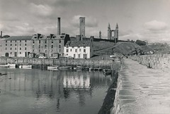 St Andrews harbour and church ruins (Colin John Ford) Tags: old vintage found st andrews ruins harbour church banks