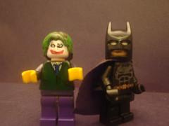 Batman and The Joker(Custom) (bouysmm) Tags: dc lego batman joker custom