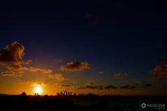 Late afternoon in Joo Pessoa 1 (fcribari) Tags: sunset brazil sky colors brasil clouds cores nikon cu joopessoa prdosol nuvens paraba d7000