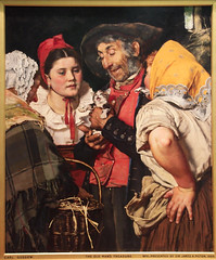 Old Mans Treasure by Carl Gussow 1876 - Walker Art Museum -Liverpool - Northwest England  (67) (Bruce Aleksander & Dennis Milam) Tags: uk england by liverpool kitten northwest 67 1876 walkerartmuseum northwestengland oldmanstreasure carlgussow