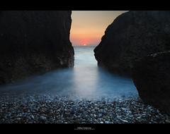 The secret shore (Hkon Kjllmoen, Norway) Tags: sunset greece rhodes solnedgang rhodos longexposures coth5 mygearandme bestofblinkwinners hkonkjllmoen