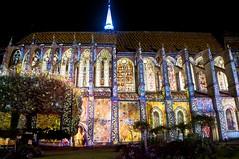 Illuminations de Chartres - Eglise St Pierre (laurentp_ap) Tags: france nikon illumination nuit chartres d300 laurentphilippe