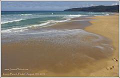 Karon Beach 13th August 2012 (Jamie Monk in Phuket) Tags: beach thailand phuket karon karonbeach