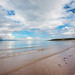 Gullane sand beach