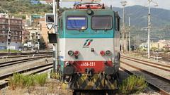 Linea Genova - Ventimiglia E656 551 a Savona (Caimano95) Tags: genova linea ventimiglia ferrovia savona 551 e656 caimano