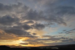 Big Sky Above Us, Sunset from Fernilea, Isle of Skye, Scotland (Peter (Fernilea Photography)) Tags: sunset lighthouse sunrise scotland isleofskye cuillins cuillin carbost glenbrittle portnalong sgurrnangillean minginish fernilea skyebridgesligachan