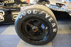 JPS Lotus 72 - Goodyear tyre - Ronnie Petersons F1 car (crusaderstgeorge) Tags: jps lotus72 goodyear tyres ronniepeterson johnplayerspecial crusaderstgeorge
