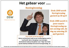 Koninginnedag (Thoran Pictures (Thx for 150k views)) Tags: sign signlanguage doof collega dsw gebaar gebarentaal maatschappij ngt gemeenschap drempelsweg arnolddegans