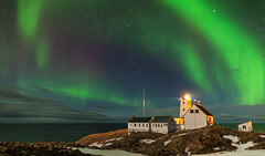 Hornøya Northern Lights Vol. 2 (L.Mikonranta) Tags: lighthouse norway night canon eos lights ii aurora 5d 24mm usm northern ef borealis mkii markii norja vardø 2414 varanger f14l canoneos5dmarkii hornøya 5d2 5dii 5dmkii canoneos5dmkii 5dmk2 5dmark2 canoneos5dmark2 ef24mmf14liiusm canonef24mmf14liiusm copyright©lm