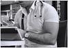 The Doctor (Mike Goldberg) Tags: cafe jerusalem lunchhour doctor bodybuilder mikegoldberg panasonicfz35