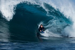 Jon Armstrong (Tom Brune) Tags: ocean blue canon barrel wave australia 200 western spl 70 f4 slab 50d waterhousing