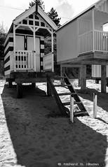 wells6 (Richard G. Hilsden) Tags: uk sea england beach water coast seaside sand nikon leicestershire britain g norfolk huts richard april british 3200 beachhuts springtime wellsnextthesea 2014 hilsden richardghilsden