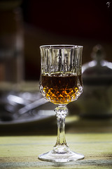 a glass of whisky (MJphotograhpy) Tags: light stilllife glass gold golden indoor alcohol whisky