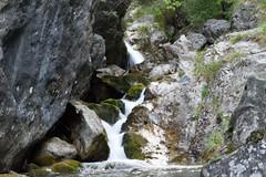 Waterfall (lucapando) Tags: primavera natura rocce acqua crepuscolo cascate prati sottobosco arbusti vallevertova