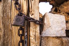 Long ago..... (Shutter Theory) Tags: abandoned stone swansea vintage cabin lock historic yale padlock owensvalley easterncalifornia californiahistory inyomountains inyocounty abandonedcalifornia