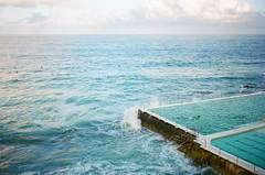 Bondi Icebergs Pool and Ocean (Robert Ogilvie) Tags: sydney australia contaxt oceanpool