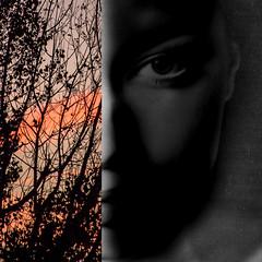 l'oeil de l'aube (zventure,) Tags: portrait blackandwhite paris monochrome noiretblanc couleurs ombre paysage numerique argentique aube mixage argentiquenumerique