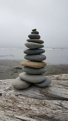 Rock Cairn in Olympic NP