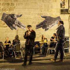 Guns Hands (christophe monteil) Tags: street urban streetart france collage montpellier urbanart dmr urbanculture arturbain pokito christophemonteil chrismonteil poquitochris pokitochris