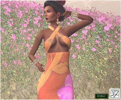 Windsong Tropic Frock (suki (suegeeli decuir )) Tags: flower sexy shopping mesh summerdress snowpaws slevents carriesnowpaws