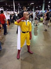 One Punch Man (blueZhift) Tags: anime comics costume illinois cosplay manga rosemont videogames convention saitama acen 2016 animecentral crossplay onepunchman