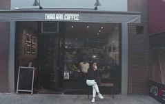 F829 (hronirheila) Tags: nyc ny newyork coffee 35mm cafe nikon fuji grain natura fujifilm grainy nikonf70 thirdrail fujinatura1600 fujinatura thirdrailcoffee epsonperfectionv550