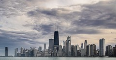Chicago (Kevin Povenz) Tags: 2016 april kevinpovenz illinios chicago windycity downtown city building buildings skyscrapers sky sunset evening dusk twilight canon7dmarkii lakemichigan